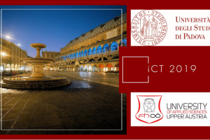 iCT 2019 Conference, Padova (Italy)